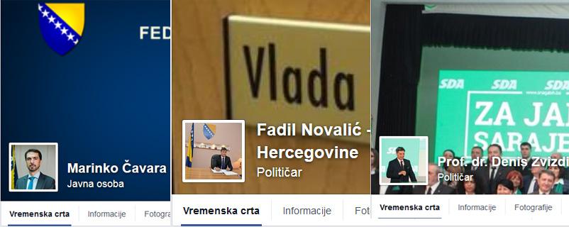 Bh. političari na vlasti pogrešno koriste društvene mreže!